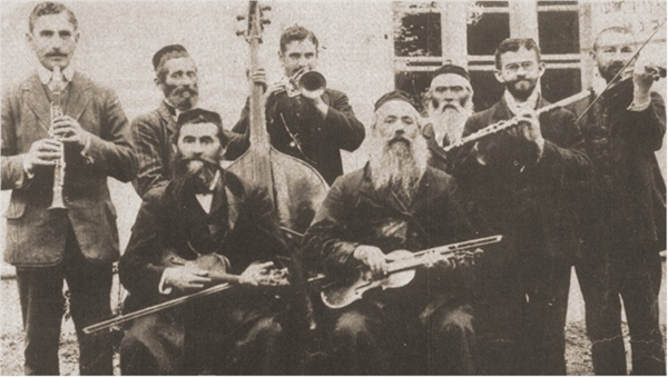 Klezmer band in Poland around 1910