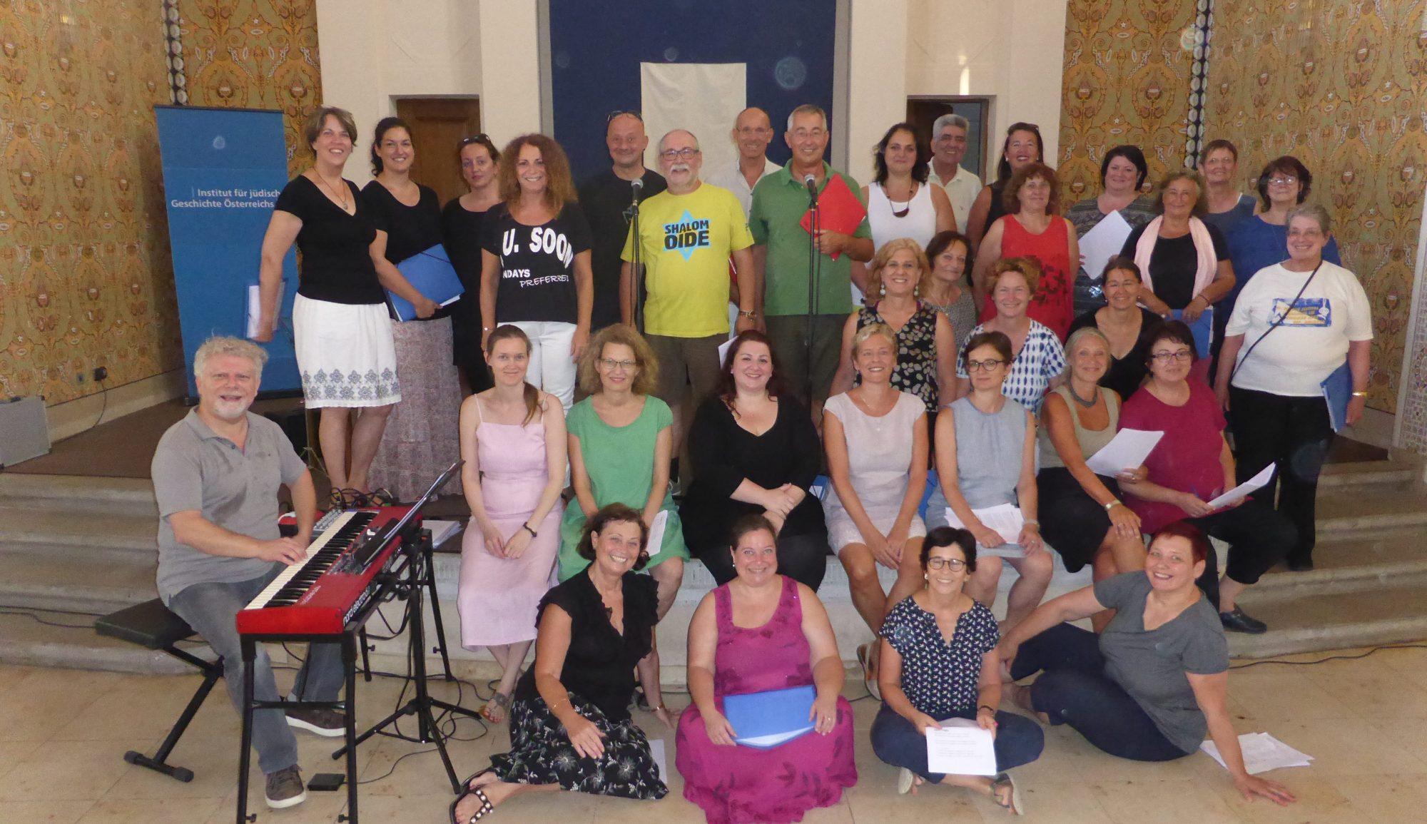 Gesangs-Workshop Synagoge St.Pölten, Roman Grinberg, 2018