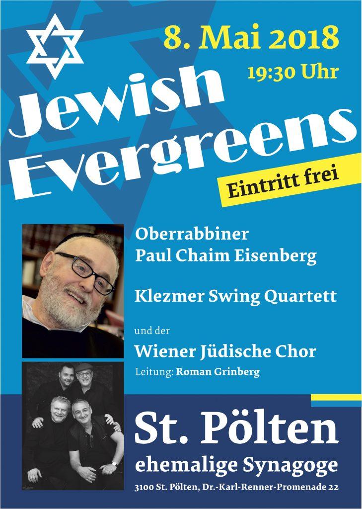 Oberrabbiner Eisenberg - Roman Grinberg Quartett - Wiener Jüdischer Chor